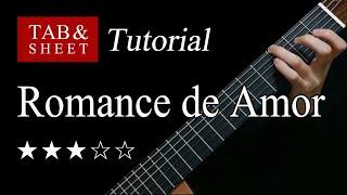 Romance de Amor - Guitar Lesson