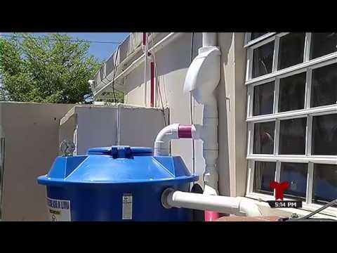 Sistema para recolectar agua de la lluvia youtube - Recoger agua de lluvia ...