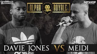 Alpha Royale x TopTier Takeover Battle #4 Davie Jones vs Meidi