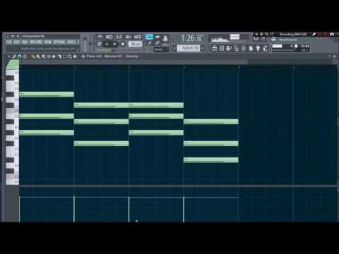 Unforgettable  French Montana ft Swae Lee FL Studio Remake
