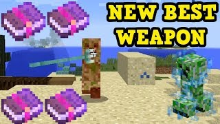 Minecraft 1.13 - Trident BEST Weapon + 4 New Enchantments!