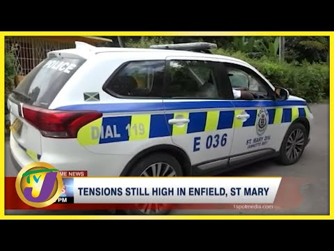 Tensions Still High in Enfield, St Mary after Shooting | TVJ News - Sept 23 2021