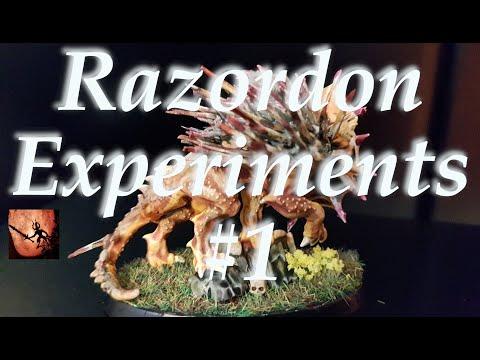 Razordon Experiments #1 - Learning From Seraphon Kitbashing