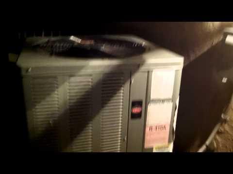 Noisy, Loud, Squeaky, Heat Pump / Air Conditioner Trane ...
