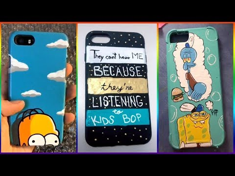 Tik Tok Painting On Phone Cases Compilation 2019 #6