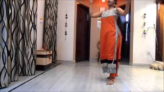 Maa Tujhe Salam, dance performance by Nandini