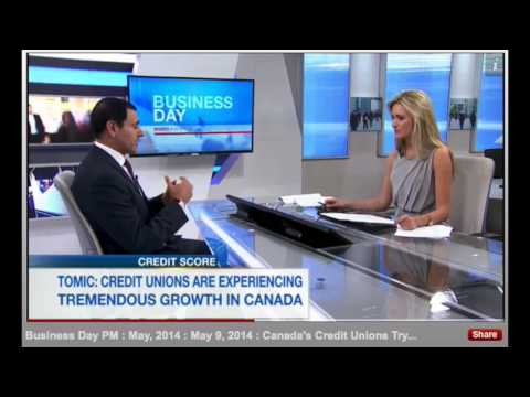 Doce Tomic On BNN: Growth Of Canadian Credit Unions