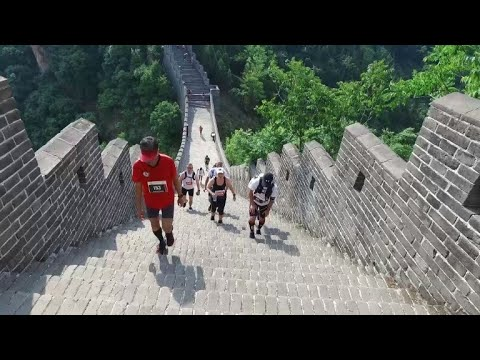 Le marathon de la Grande Muraille de Chine avec 5.164 marches