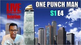 [Vezaks: реакция] Что. Не так. C этой. Башней. One Punch Man - 1 сезон 4 эпизод