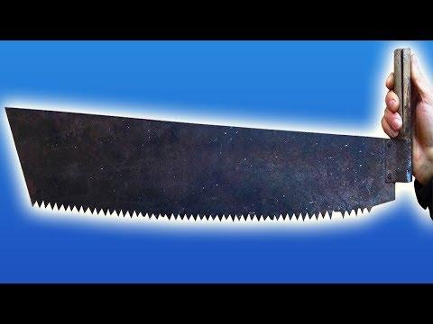 Просто ШОК!!! Что можно сделать из старой ножовки!!!