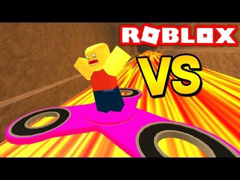 1,000MPH FIDGET SPINNER VS ROBLOX!
