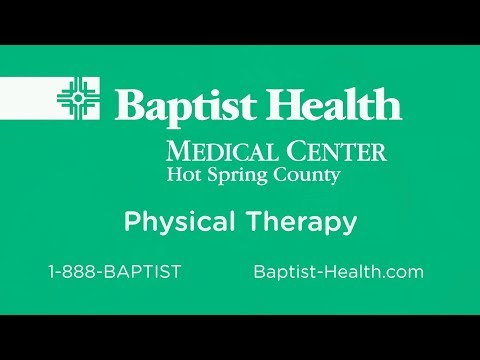 Physical Therapy at Baptist Health Medical Center-Hot Spring County