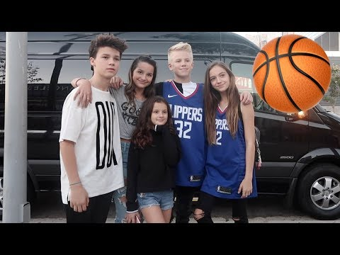 First NBA Game 🏀 (WK 355.4) | Bratayley