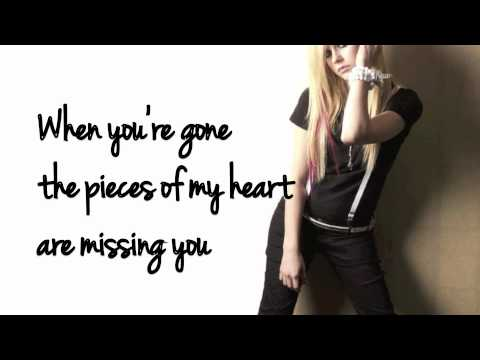 When Your Gone Avril Lavigne lyrics