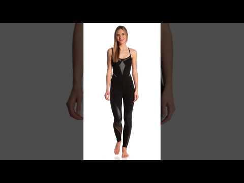 Beyond Yoga Final Cut Bodysuit Yoga & Dance Long Leotard | SwimOutlet.com