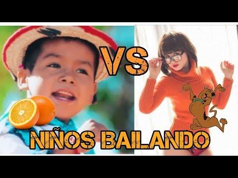Niños bailando SCOOBY DOO PAPA vs niños bailando MOVIMIENTO NARANJA (chistoso)