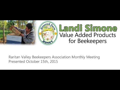 Value Added Products for Beekeepers - Landi Simone