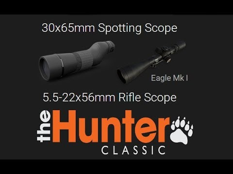 theHunter Classic - Extended Render Range First Look + Spotting Scope + Eagle Mk I Review