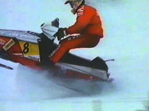 Yamaha Phazer race snowmobile 1991