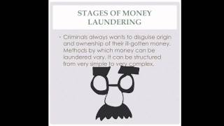 Introduction to Anti-Money Laundering and Terrorist Financing (Part 1)