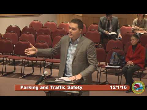 Parking and Traffic Safety Committee 12.1.16