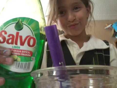 como hacer slime con 2 ingredientes faciles
