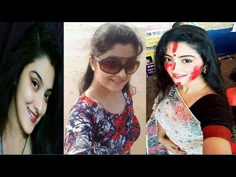 Jarowar Jhumko-Serial Cast Shweta Bhattacharya Mou Behind The Photos
