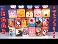 Chocolate Surprise Eggs Shopkins Alvin Doc McStuffins Ever After High Hello Kitty Opening Toys
