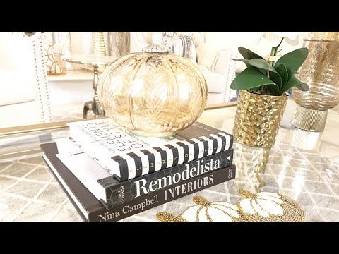 GLAM COFFEE TABLE DECORATING IDEAS|AFFORDABLE AND EASY