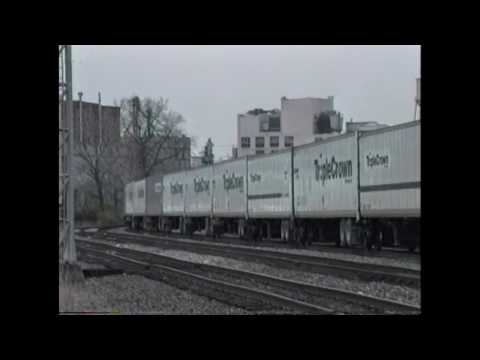 Cincinnati, Ohio Trains 1990