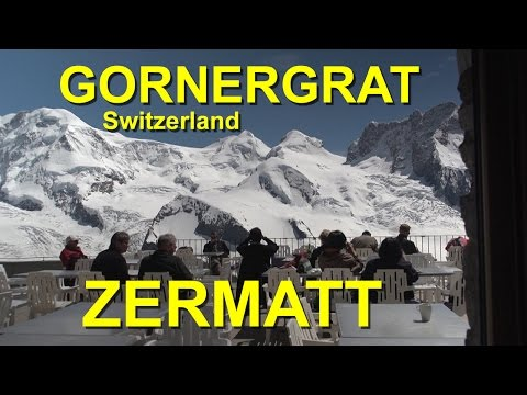 Gornergrat in Zermatt, Switzerland