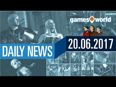 Death Stranding, Detroit Become Human, Tomb Raider, DMC | Gamesworld Daily News - 20.07.2017