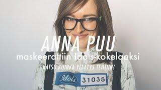 Maskeerattu Anna Puu löi tuomarit ällikällä Idols-koelauluissa – katso kuinka yllätys tehtiin!