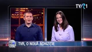 TVR, o nouă achiziţie: Mădălina Puşcalău Dobrovolschi