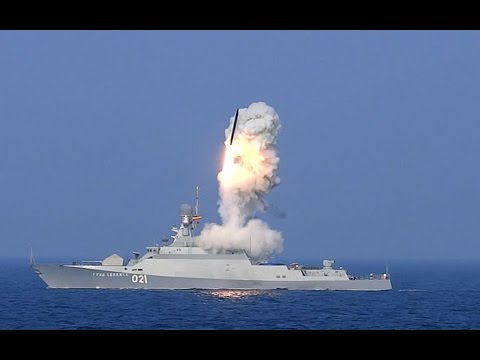 Ship strike group of the Russian Navy launched cruise missiles against ISIS.