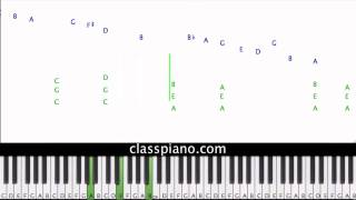 Bella's Lullaby - Carter Burwell, piano lesson