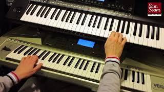 أنا عندي حنين - فيروز - عزف اورغ مع الكلمات Ana 3andi 7anin - Fairouz