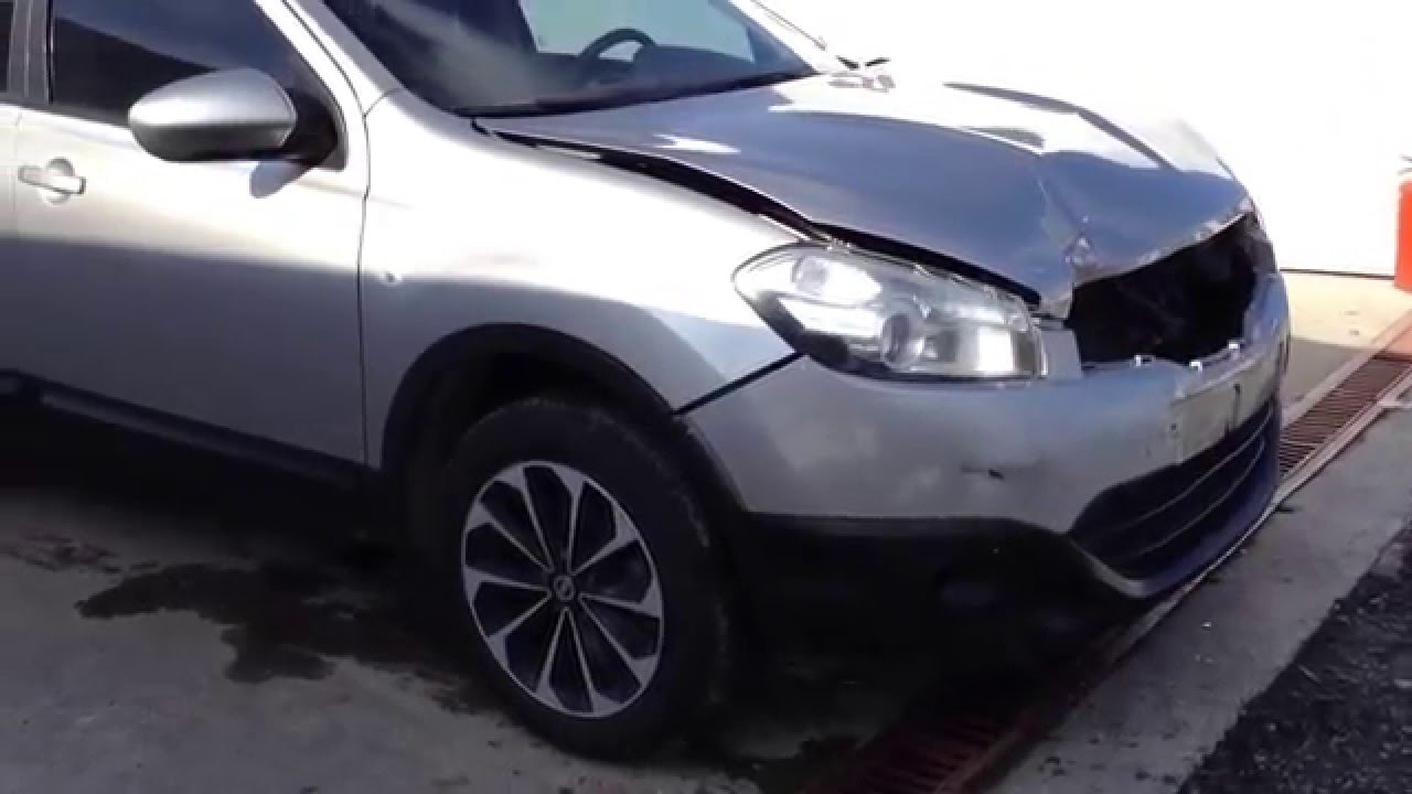 2013 model az hasarlı oto nissan qashqai 1.5 dci - youtube