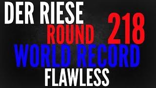 Der Riese Round 218 World Record RESET FLAWLESS