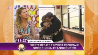 """Impacto causó reportaje de """"Contacto"""" sobre niños transgénero"""