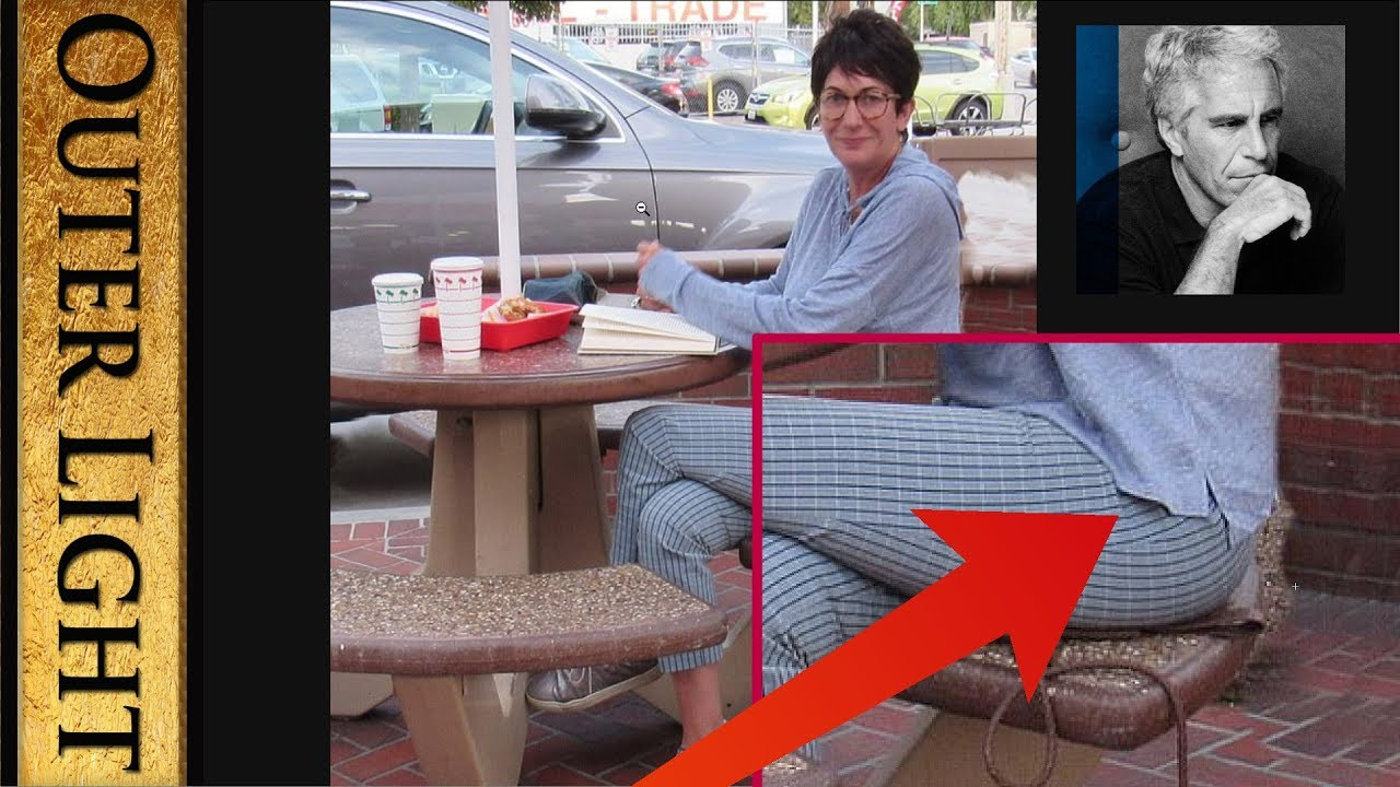 "The Outer Light ""Another photo"" of Ghislaine Maxwell at In-N-Out Burger shows ""clear evidence&q"