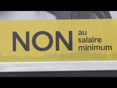 Les Suisses Rejettent L'idée D'un Salaire Minimum