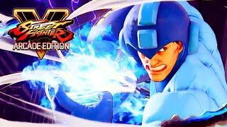 Street Fighter V: Arcade Edition - Mega Man And Roll Costumes Trailer