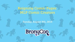 Reigning Comic Pages: MLP Comic Creators