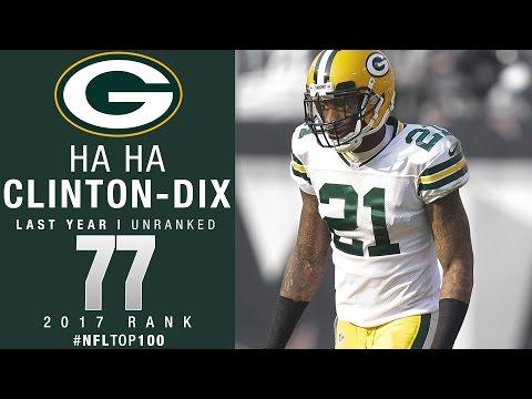 #77: Ha Ha Clinton-Dix (S, Packers) | Top 100 Players of 2017 | NFL