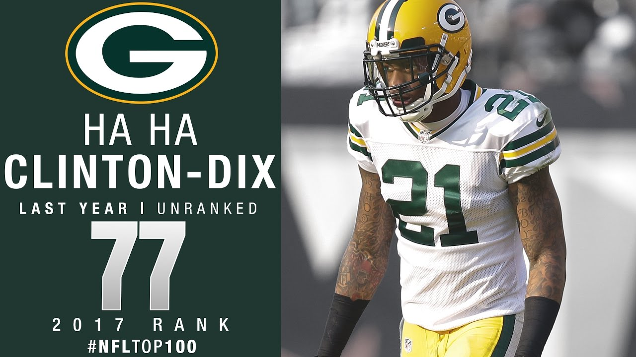77 Ha Ha Clinton Dix S Packers Top 100 Players of 2017