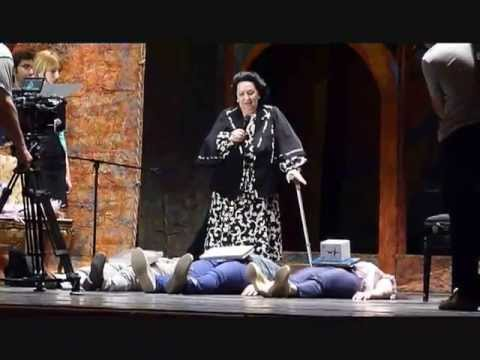 MASTER CLASS WITH MONSERRAT  CABALLE