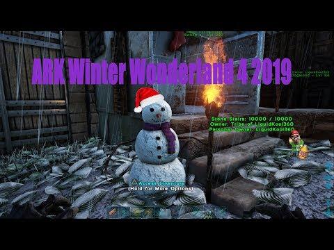 Ark Winter Wonderland 4 PS4 Ep29 WTF 2020 #WEBJR1977 #Toddjumper #Transaaron38 #LiquidKool360 Live$$
