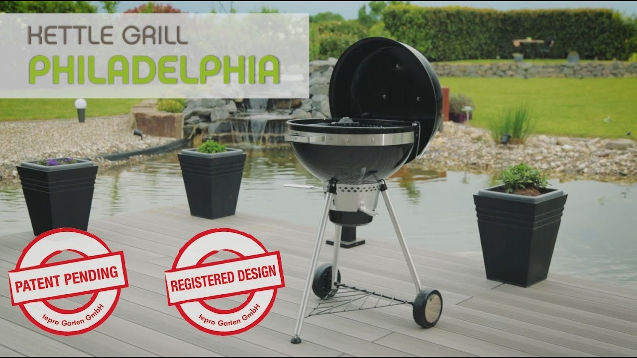Tepro Kettle Grill Philadelphia Youtube