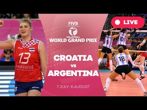Croatia v Argentina - Group 2: 2017 FIVB Volleyball World Grand Prix